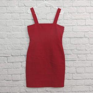 INC | Red Bandage Dress Club Dress Stretchy